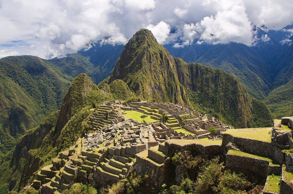 peru, mountains, machu picchu
