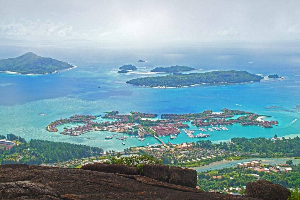 seychelles, islands, landscape